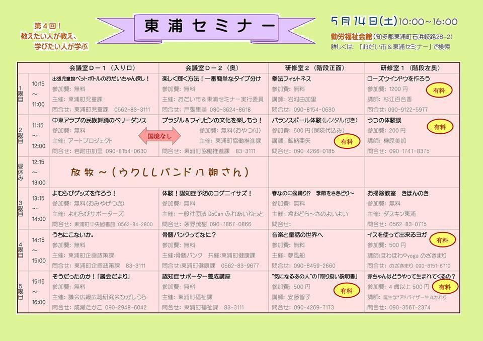 Odaiichihigashiuraseminar20160514b
