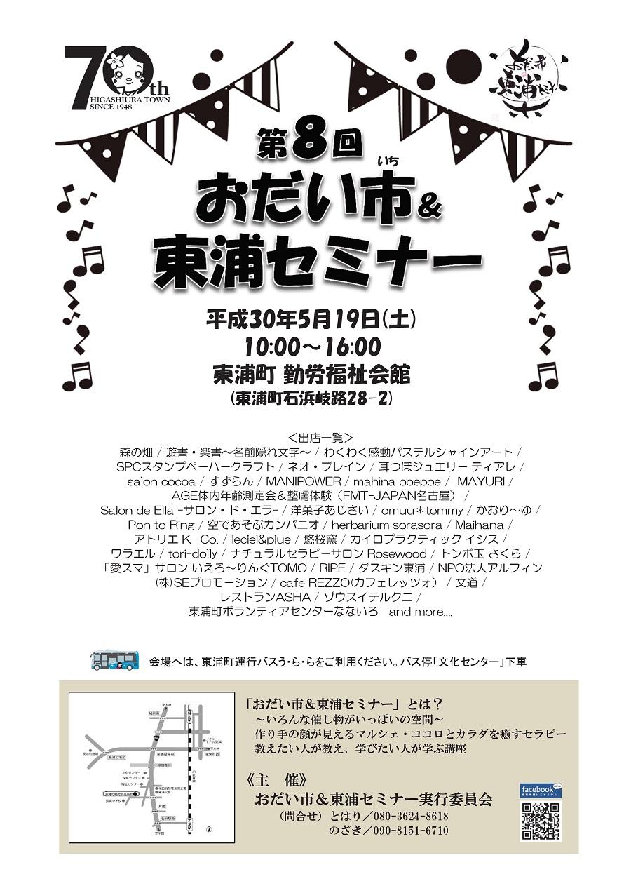 Odaiichihigashiuraseminar20180519a1