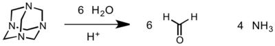 Hexamethylenetetramineh2o