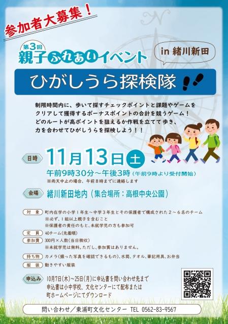 Higashiura-tankentai20211113